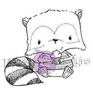 Joey (Raccoon with Cupcake)