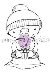 Flurry (Snowman with Gift)