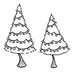 Snowflake Grove Bright Trees (2)