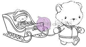 Theodore & Little (Bears with Sled)