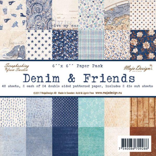 Denim & Friends 6x6 Paper Pack