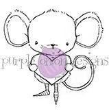 Heartfelt (Mouse with Heart)